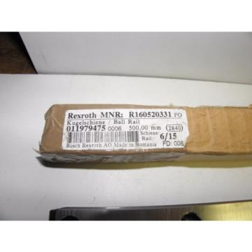 Rexroth Italy Singapore Ball Rail R160520331 500mm