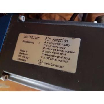origin Rexroth Prop Control Valve 4WRAP6W7023XG24K4M / 4WRKE10W650L3X6EG24TK31A1D