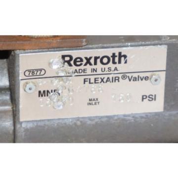 REXROTH SA-BD-0 FLEXAIR VALVE SABD0 REPAIRED