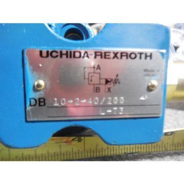 Origin UCHIDA REXROTH RELIEF VALVE # DB10-2-40/200 L-73
