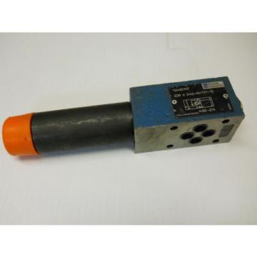 REXROTH ZDR6DA2-43/75Y/12 SANDWICH PRESSURE REDUCING VALVE P/N 00430193  Origin
