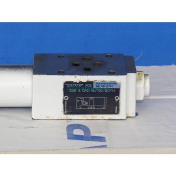 Mannesmann Rexroth ZDR 6 DP2-43/150-120YM Pressure Reducer Valve