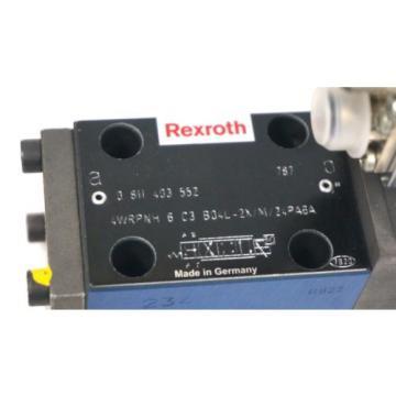 Origin BOSCH / REXROTH 0-811-403-552 CONTROL VALVE 4WRPNH-6-C3-B04L-2X/M/24PA6A