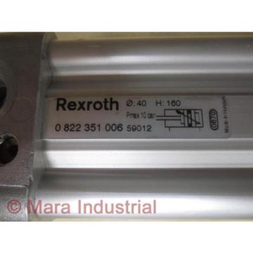 Rexroth Canada Germany 0 822 351 006 59012 Cylinder 082235100659012 - New No Box