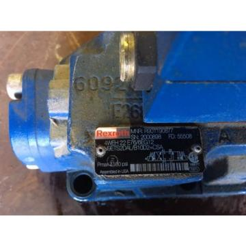 7 Rexroth Directional Valves Model Numbers below 9999 each