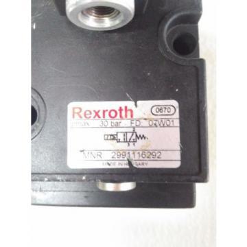 2991116292  A116290010 REXROTH VALVE 567-231 CNOMO 30 BAR 24V AVENTICS PNEAUMAT