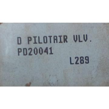 Rexroth Canada Italy Pilot Air Control Valve PD40041