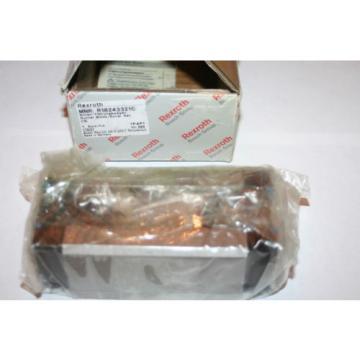 Rexroth Australia Korea Bosch Star R1824-332-10 SLH Linear Runner Block Size 35  * NEW *