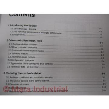Rexroth Australia Dutch 274944 Manual DIAX04 HDD And HDS (Pack of 3)