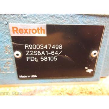 Rexroth R900347498 Z2S6A1-64 Valve origin