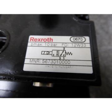 Origin REXROTH VALVE 567-30-1000-0, 5673010000