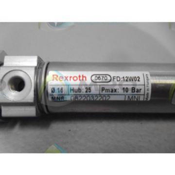 REXROTH Egypt India 0670-0822032202 CYLINDER *NEW NO BOX*