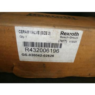 REXROTH R432006196 SOLENOID VALVE