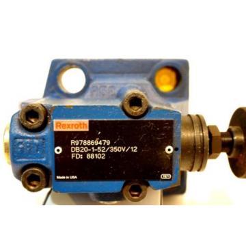 Origin REXROTH  R978869479 RELIEF VALVE DB20-1-52/350V/12