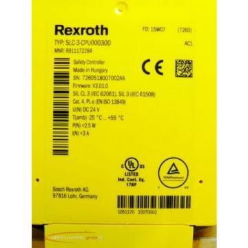 Rexroth France Singapore SLC-3-CPU000300 Safety Control   > ungebraucht! <