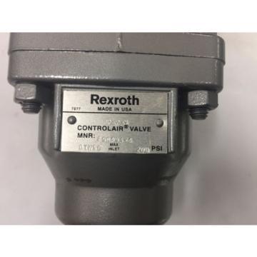 R431002641 Rexroth H-2 Controlair® Lever Operated Valves H-2-X P50493-4