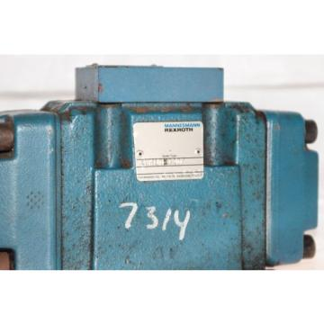 MANNESMANN REXROTH 4WH10C40/ DIRECTIONAL HYDRAULIC CONTROL VALVE USED G10