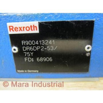 Rexroth Bosch R900413241 Valve DR6DP2-53/75Y - origin No Box