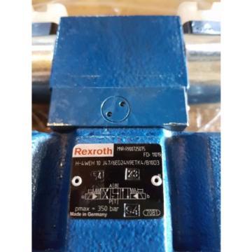 origin Rexroth Hydraulic 4WE6J6X/EG24N9K4/B10 Valve H-4WEH 10 J4X/6EG24N9ETK4/B10D3