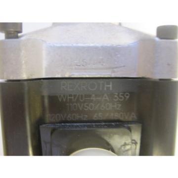 Origin REXROTH WH70-4-A 359 VALVE  REXROTH WH704A