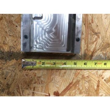 REXROTH  2 Rails  Guide Linear bearing CNC Route  21#034; L x 5#034; W