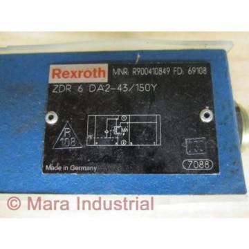 Rexroth Bosch R900410849 Valve ZDR 6 DA2-43/150Y - origin No Box