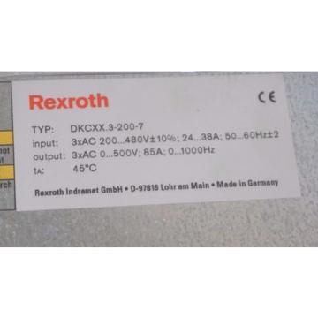 NEW Egypt Mexico REXROTH DKC02.3-200-7-FW SERVO ECO DRIVE R911284140 , DKC0232007FW