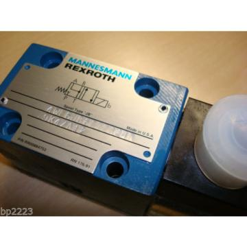 REXROTH 4WE6JB60/EG24N Directional Valve GZ45-4-A 425 24V DC 30W MANNESMANN Origin
