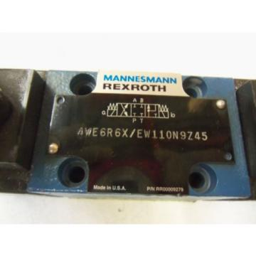 MANNESMANN Dutch Russia REXROTH 4WE6R6X / EW110N9Z45 *USED*