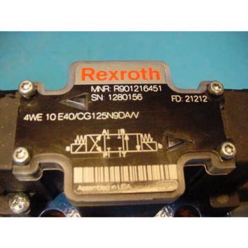 origin Rexroth Hydraulic Valve 4WE10E/CG125N9DA/V
