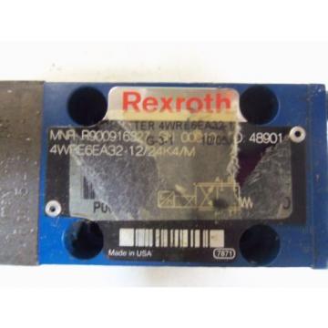 REXROTH Korea Canada 4WRE6EA32-12/24K4/M *USED*