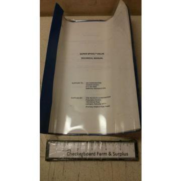 NOS Wabco Super Spool Valve P62914 L3186 CB75-90009 4810011148371 Rexroth