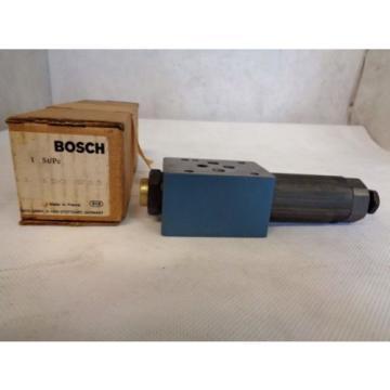 Origin BOSCH REXROTH 0-811-150-233 PRESSURE REDUCING VALVE 3000 PSI MADE IN FRANCE