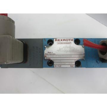 Rexroth 4WRE6E08-10/24Z4/M Proportional Valve