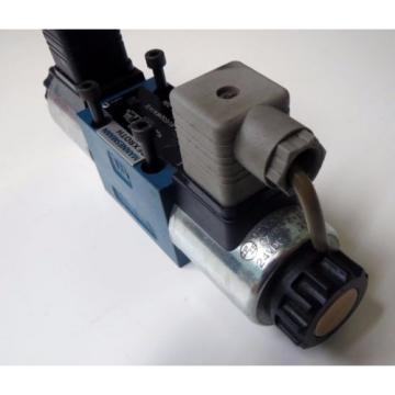Bosch Australia Canada Rexroth Direct Operated Directional Spool Valve 4WE 6 J73-61/EG24k4/A12