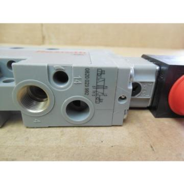 Rexroth Double Solenoid Valve 0820 023 992 0820023992 143 PSI 24 VDC origin