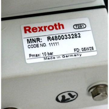 Origin REXROTH BOSCH R480033282 VALVE TERMINAL SYSTEM SER CL03 CLEAN LINE