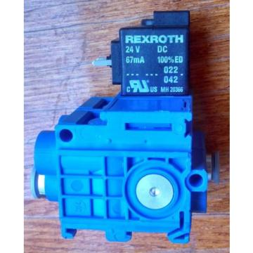 Origin REXROTH TYPE 579 VALVE 5/2 SOLENOID OPERATED ND4 24V DC 579-490--0