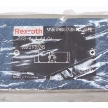 Origin REXROTH Z2S-6-1-64/V HYDRAULIC CHECK VALVE R900347504, Z2S6164V