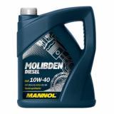5L MANNOL Molibden Diesel 10W-40 API CG-4/CF-4/SJ Motoröl Öl 10W40 ACEA E2/B3/A2