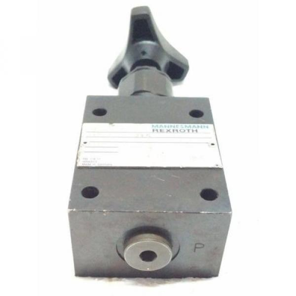 DBD6G18/315 Pressure relief valves,direct operated MANNESMANN REXROTH DBD SERIES #7 image