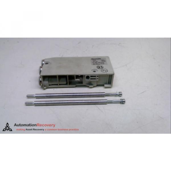 REXROTH Singapore India R 480 240 875, PNEUMATIC MANIFOLD END BLOCK, 24 VDC, 10 BAR #231335 #1 image