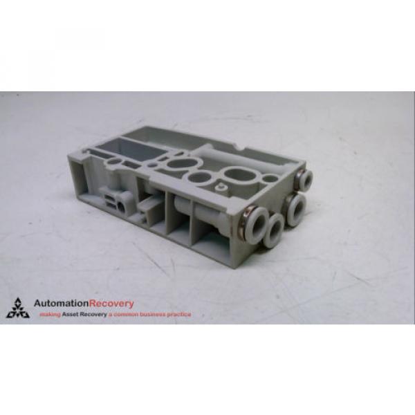 REXROTH Singapore India R 480 240 875, PNEUMATIC MANIFOLD END BLOCK, 24 VDC, 10 BAR #231335 #4 image