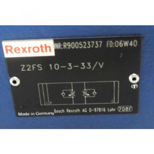 Origin REXROTH Z2FS 10-3-33/V HYDRAULIC VALVE  Z2FS10-3-33/V #5 image
