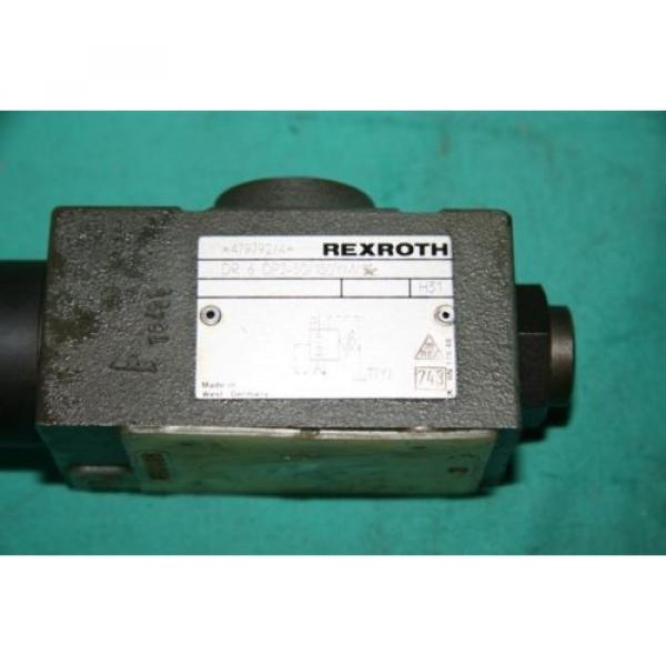 Rexroth DR 6 DP1-53/50Y pressure reducing valve bosch #3 image