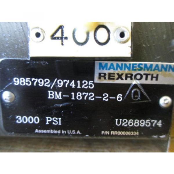 REXROTH Russia Dutch HYDRAULIC PIVOT RETRACT & EXTEND 0003844 R900548271 RR00006334 #11 image