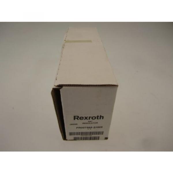 "REXROTH China Japan BOSCH GROUP R432016347 3/4"" REGULATOR PR007565 21005 #3 image"