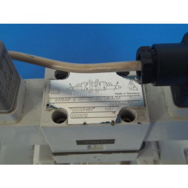 Mannesmann Egypt Canada Rexroth 4WRKE10W4-50-2X/6A24Z9/D3M Hydraulic Valve Assembly #6 image
