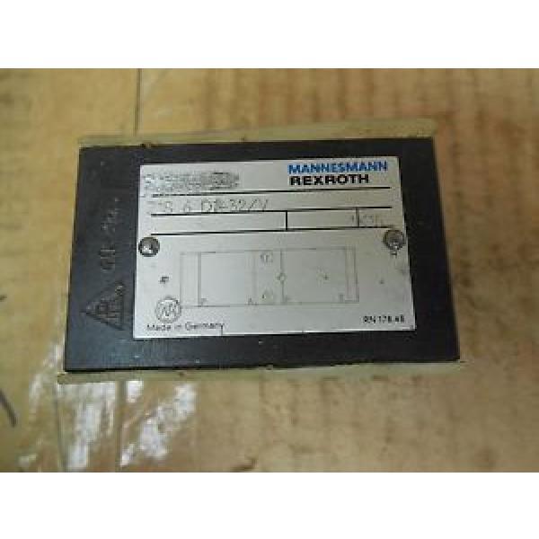 Rexroth Mannesmann Manifold Block Solenoid Valve Z1S 6 C2-32/V origin #1 image