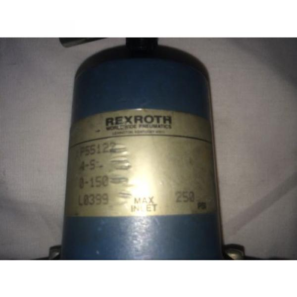 REXROTH Italy Greece P55122 RELAY VALVE MOD: 4S, 0-150, 250PSI #3 image